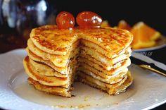 Πανκέικς με Πορτοκάλι και Ανθότυρο | Kitchen Stories. | Bloglovin'