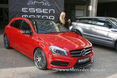Vorpremiere Mercedes A Klasse Im Brabus Look A250 Sport Trimm