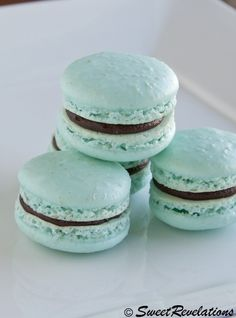 I want to try these! Kahlua French Macarons