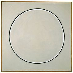 "Agnes Martin ""Untitled"", 1960 Oil."