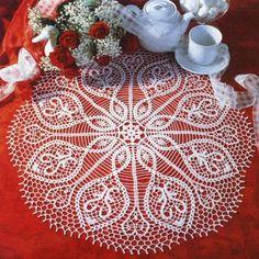 free crochet doily pattern 120 Free Crochet Doily Pattern New