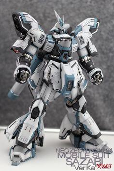 MG 1/100 Sazabi Ver. Ka - Painted Build - Gundam Kits Collection News and Reviews