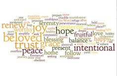 """""""One Word"""" Created by Bonnie Gray, the Faith Barista"""