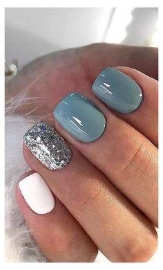 Dip Nail Colors, Sns Nails Colors, Gel Nail Color Ideas, Summer Nail Colors, Nail Color Trends, Bright Summer Nails, Pretty Nail Colors, Spring Nails, Fancy Nails