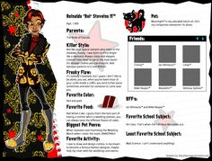 Reinaldo (Rei) Steveins II Official Bio by Rsac3.deviantart.com on @deviantART