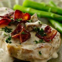 Creamy Mushroom Pork Chops
