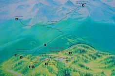 """Overview of the hiking trails in Mount Revelstoke National Park"""