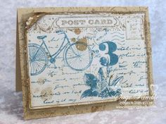 Stampin Up Post Card