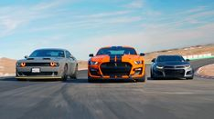 Few days' ago we had, exactly the same modern muscle cars: the Challenger RedEye, Camaro and the new 2020 Shelby With a little upgrade that now Camaro Zl1, Chevrolet Camaro, Chevy, Shelby Gt500, Ford Mustang Shelby, Modern Muscle Cars, American Muscle Cars, Rat Rods, Truck Flatbeds