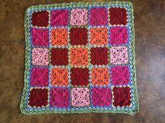 Haak-en-stekie: Projek Bohemia...Trial Version Trials, Stitch, Blanket, Crochet, Bohemia, Full Stop, Ganchillo, Blankets, Cover