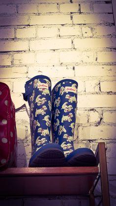 London rainy boots