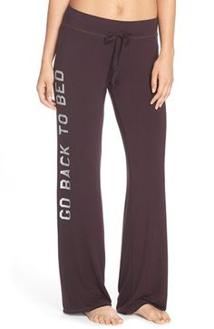 Junk Food 'Go Back to Bed' Lounge Pants available at #Nordstrom