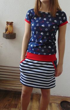 Girls Dresses Sewing, Sewing Clothes, Fashion Project, Couture, Knit Crochet, Cool Style, Girl Outfits, Dressing, Shirt Dress
