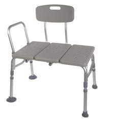 HEALTHLINE Tub Transfer Bench Lightweight Medical Bath and Shower Chair with Back NonSlip Seat Bathtub Transfer Bench for Elderly and Disabled Adjustable Height Grey *** Continue to the product at the image link. (This is an affiliate link) Bathroom Bench, Bath Bench, Bath Seats, Bathroom Fixtures, Shower Chair, Shower Seat, Shower Tub, Bath Tub, Shower Benches