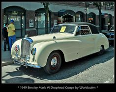 1949 Bentley Mark VI Drophead Coupe | Flickr - Photo Sharing!