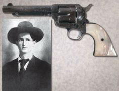 Documented Historic Factory Engraved Black Powder Colt Single Action Army Revolver From the Personal Property of Bob Dalton Documented to Have Been Taken From His Dead Body After The Famous Coffeyville Raid Accompanied by an Unprecedented Amount of Documentation