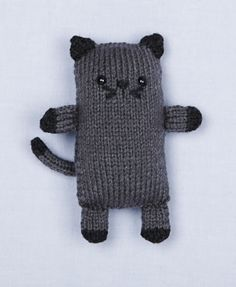 Image of Loom Knit Cat