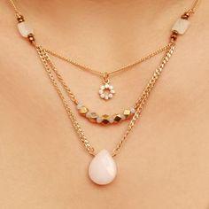 Collar | Mujer | Moda Cute Jewelry, Boho Jewelry, Beaded Jewelry, Jewelery, Vintage Jewelry, Jewelry Accessories, Jewelry Necklaces, Handmade Jewelry, Beaded Necklace