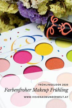 Farbenfroher Makeup Frühlingslook 2020 #makeup #makeuplook Mascara, Eyeliner, Bh Cosmetics, Concealer, Kajal, Makeup Looks, Routine, German, Skin Care