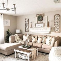 39 incredible farmhouse living room sofa design ideas and decor 15 - Home - . - 39 incredible farmhouse living room sofa design ideas and decor 15 # - Living Room Sofa Design, Living Room Designs, Living Room Themes, Living Room Decorations, Bedroom Designs, Living Room Walls, Wall Decorations, Living Room Remodel, Living Room Ideas House