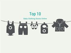 Save a ton of money and find the best deals by checking out these Top 10 Best Baby Clothing Stores Online! #baby #clothing #stores #online #best