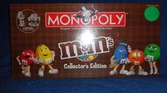Monopoly M&M's Board Game Collector's Edition #Monopoly