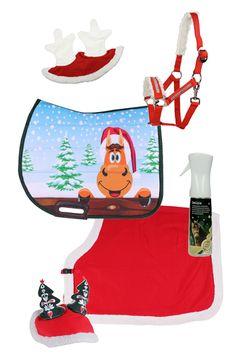 .Horse Christmas Set - Epplejeck