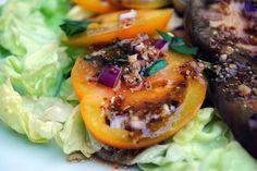 Heirloom Tomato Salad by ClareCooks!, gluten free
