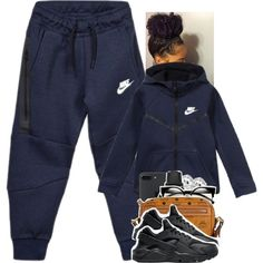 A fashion look from November 2016 featuring NIKE sneakers, MCM shoulder bags and CLUSE watches. Browse and shop related looks. Lazy Day Outfits, Cute Swag Outfits, Cute Outfits For School, Chill Outfits, Teenage Outfits, Teen Fashion Outfits, Tomboy Fashion, Everyday Outfits, Look Fashion