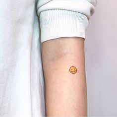 Smiley Tattoo by chox.dal