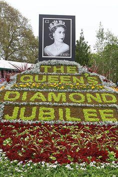 Chelsea flower show: Jubilee
