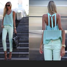 I think you'd have to be this skinny to pull it off but I love.