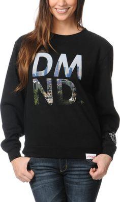 http://www.zumiez.com/diamond-supply-girls-la-dmnd-black-crew-neck-sweatshirt.html