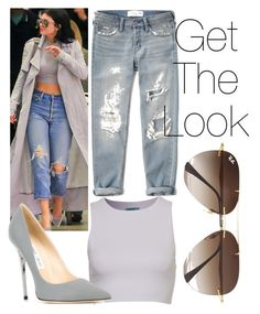 """""""Get The Look : Kylie Jenner"""" by weirdcass on Polyvore featuring Abercrombie & Fitch, Jimmy Choo, Ray-Ban, women's clothing, women, female, woman, misses and juniors"""