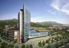 Keimyung University Dongsan Medical Center, Daegu, Korea I designed by KMD Architects