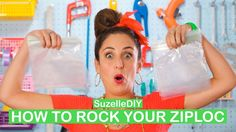 Suzelle DIY: How to rock your Ziploc - All 4 Women Popular Videos, Diy Videos, I Laughed, Social Media, Rock, How To Make, Tips, Women, Advice