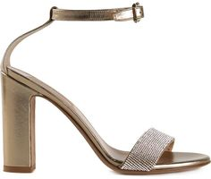 Valentino Garavani metallic sandals