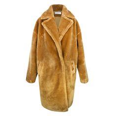 Oversized teddy bear coat