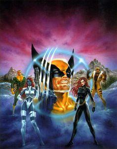 Boris Vallejo Marvel | Boris Vallejo - Marvel Comics - X-Men - Wolverine (2)