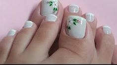 Easy healthy breakfast ideas on the good day song Pedicure Designs, Toe Nail Designs, French Pedicure, Manicure And Pedicure, Hair And Nails, My Nails, Cute Pedicures, Nail Designer, Japanese Nail Art
