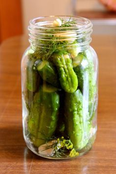 Real Ukrainian Dill Pickles - simple recipe