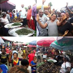 "Happening Now at Akpan Andem Market Governor Udom Emmanuel declares every Thursday a ""Ticket Free Day"" in all market operating in Uyo Local Government Area and also provides an Interest Free Loan to traders.  Today the Special Assistant to the Governor on Trading and Marketers Mr. Idorenyin Rachel led the Special Assistant to the Governor on Media Mr. Essien Ndueso  Mr. Joseph Okon Special Assistant on Grassroot Reorientation to the popular market Udua Akpan Andem to listen to testimonies by…"