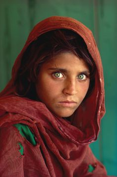 "National Geographic ""Afghan Girl"" 1984. Probably one of my favorite covers/photos of all time."