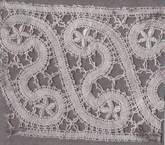 Slovak bobbin lace pattern