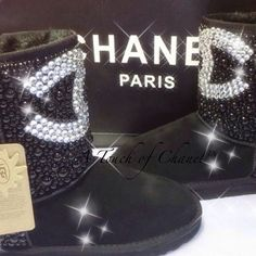 Chanel uggs!