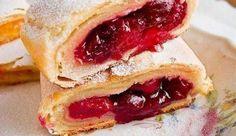 Австрийский штрудель с вишнями: десерт, рулет - проверено и одобрено - CLUB-SAMA.RU