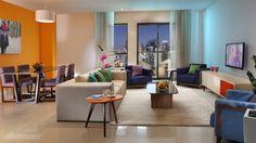 Hotel Hawthorn Suites by Wyndham, Dubai, Emiartele Arabe Unite One Bedroom, Dubai 2017, Table, Furniture, Home Decor, Decoration Home, Room Decor, Tables, Home Furnishings