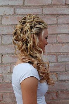 pretty. Wedding hair