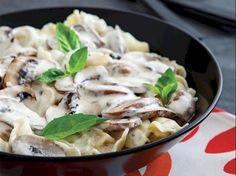 Kremalı mantarlı tortellini Tarifi - Dünya Mutfağı Yemekleri - Yemek Tarifleri