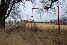 Nekoma, Ks. Abandoned school ground so close to home.  Wonderful childhood memories of playing in Nekoma